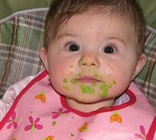 Baby food stain removal guide