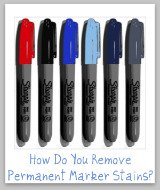 permanent marker stain removal
