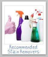 thumbs up to cleaning products