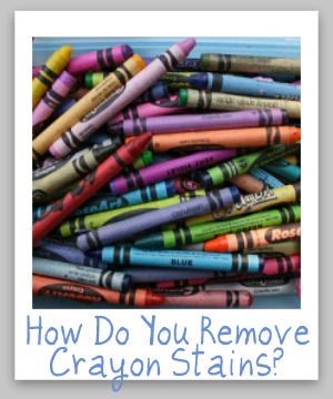 remove crayon stain