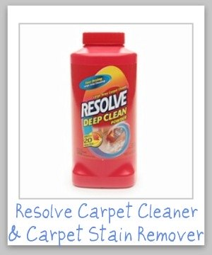 resolve carpet cleaner
