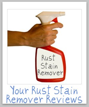 rust stain removers