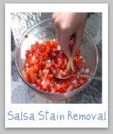 salsa stain