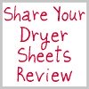 share your dryer sheets review here