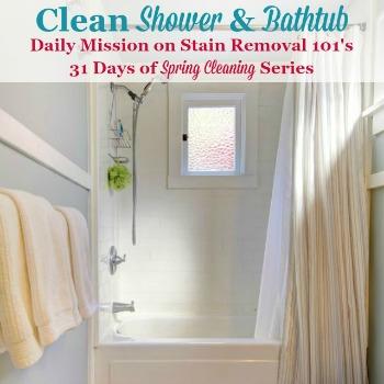 Clean Shower And Bathtub