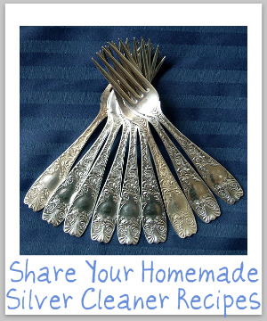silver cleaner homemade