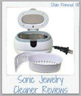 sonic jewelry cleaner recipe