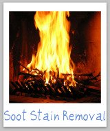 soot stains