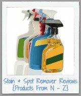 stain and spot remover reviews