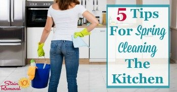5 tips for spring cleaning the kitchen