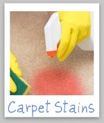 cleaning carpet stain