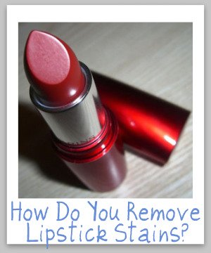 stain removal lipstick