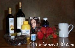 products that stain easily