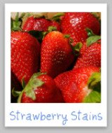 strawberry juice stains