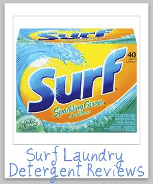 surf laundry detergent