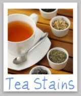 stain removal tea