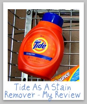 tide stain remover