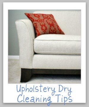 How To Spot Clean Dry Clean Only Upholstery Yourself, Plus More Upholstery  Dry Cleaning Tips ...