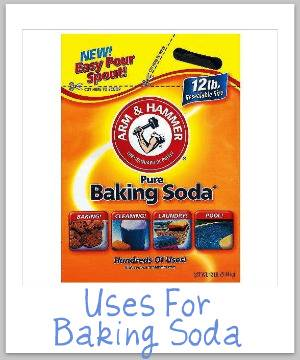 Uses For Baking Soda Cleaning Laundry Odor And Stain Removal