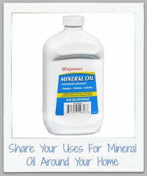 uses for mineral oil