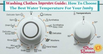 Washing clothes temperature guide: How to choose the best water temperature for your laundry