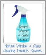natural glass and window cleaning products reviews