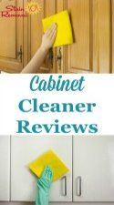 Cabinet Cleaners Reviews