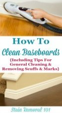 Clean Baseboards