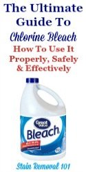 Ultimate Guide To Chlorine Bleach