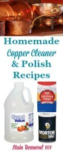Homemade Copper Cleaner & Polish Recipes
