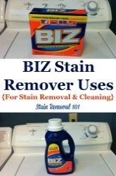 Biz Stain Remover Uses For Stain Removing And Cleaning