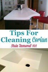 Cleaning Corian