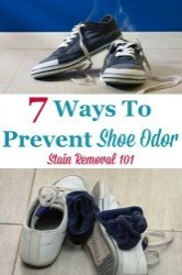 Prevent Shoe Odor