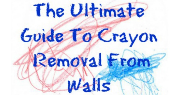 Lots and lots of tips and instructions for crayon removal from walls {on Stain Removal 101}