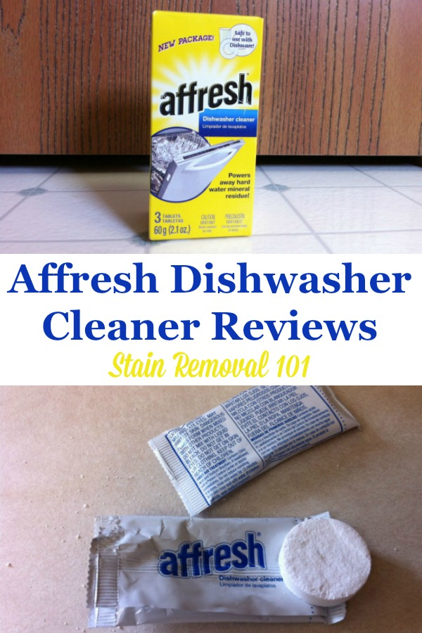 Affresh dishwasher cleaner reviews {on Stain Removal 101} #Affresh #DishwasherCleaner #CleaningProduct