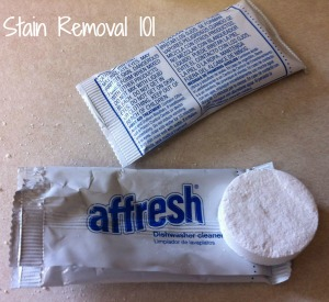 Affresh dishwasher cleaner tablet