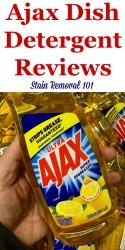 Ajax Dish Detergent Reviews