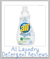 ALL detergent reviews