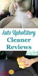 Car And Auto Upholstery Cleaner
