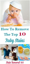 Remove Top 10 Baby Stains