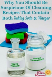 Both Baking Soda And Vinegar