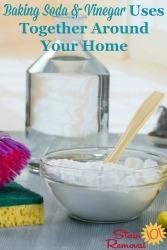 Baking Soda & Vinegar Uses
