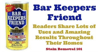 Bar Keepers Friend reviews and uses around your home