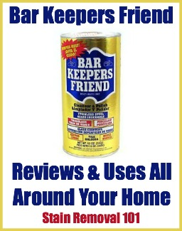 bar keepers friend reviews uses original powder. Black Bedroom Furniture Sets. Home Design Ideas