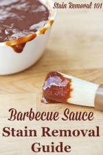 Barbecue Stain Removal Guide