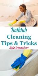 Bathtub Cleaning Tips