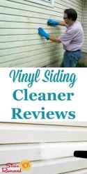 Cleaner For Vinyl Siding