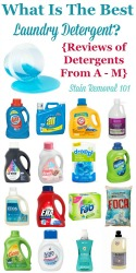 What's The Best Laundry Detergent?