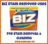 uses for BIZ stain remover
