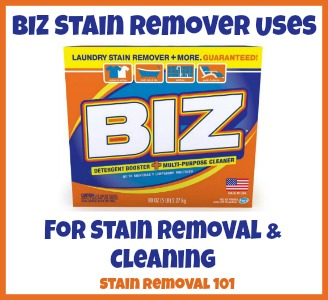 Biz Stain Remover Reviews And Uses For Stain Removal
